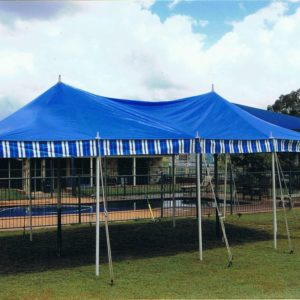 Marquee, 3.6mx7.2m (12'x24') Peg/Pole