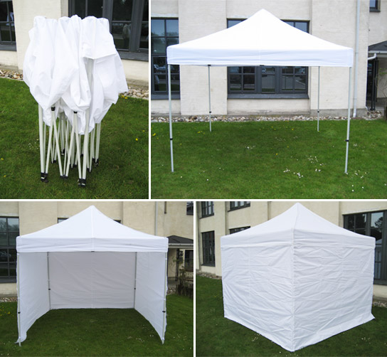 Marquee, Pagoda Style 3mx3m Frame* Erected and Dismantled