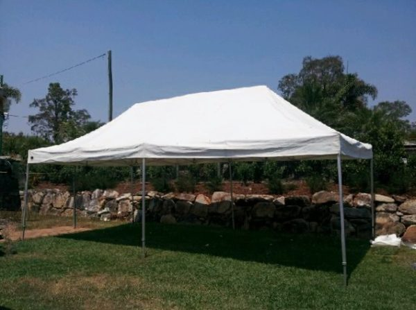 Marquee, Pagoda Style 4m x 8m Frame Erected ans Dismantled