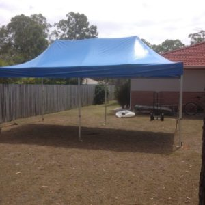 Marquee, Pagoda Style 3mx6m Frame* Erected and Dismatled