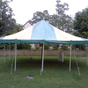 Marquee, 7.2mx7.2m (24'x24') Peg/Pole