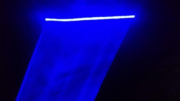 Disco Light, Blue Laser Show