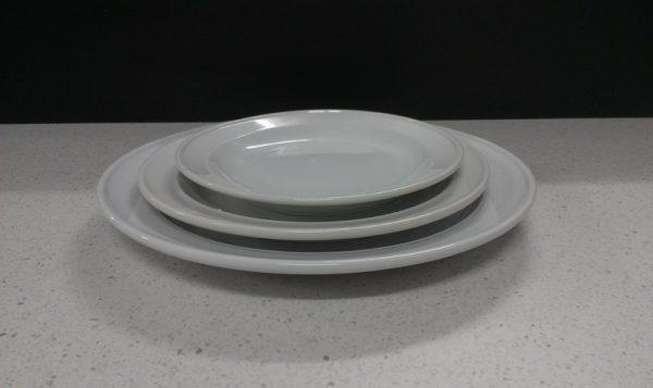 Plate, Dinner (Packaged in 5's)