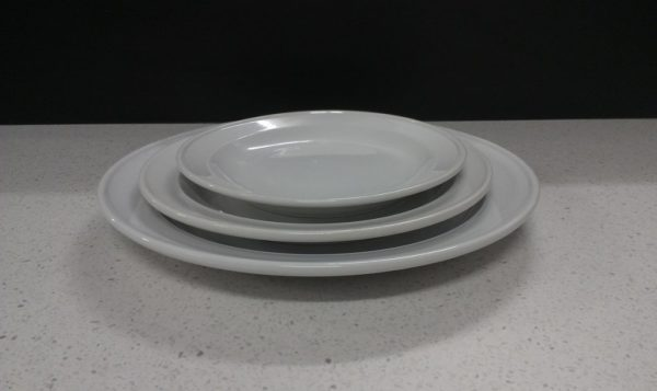Plate, Entrée (Packaged in 5's)