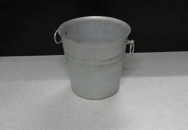 Champagne Bucket (Brushed Aluminium)