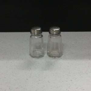 Glass - Salt and pepper shakers