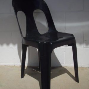 Chair, Black Bistro