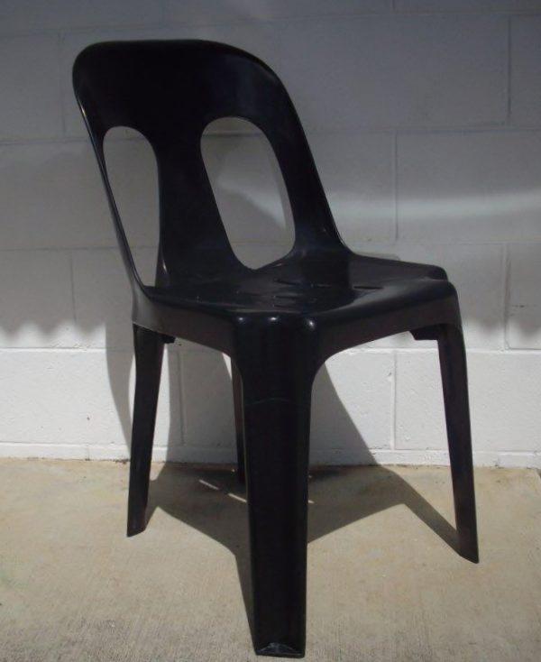 Chair, Black Bistro