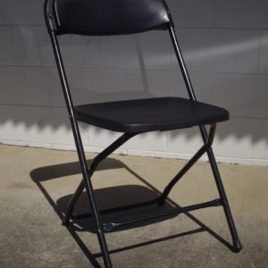 Chair, Folding (Black)
