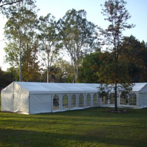 Marquee, 6m x 18m + 6m x 6m Wedding Structure*
