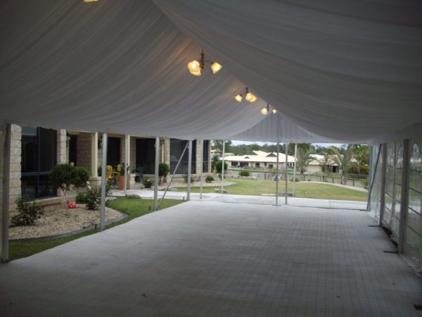 Marquee Silk Liner 6m x 21m