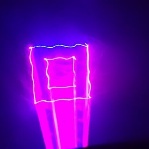 Disco Light, Red Blue Purple Laser Show