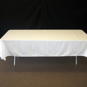 Linen tablecloth rectangle