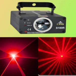 Disco Light, Red Ghost (Laser)