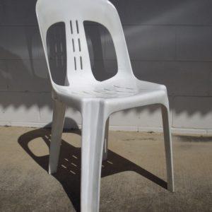 Chair White Budget