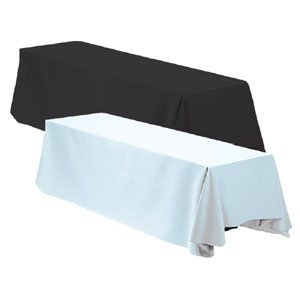 Linen tablecloth long drop