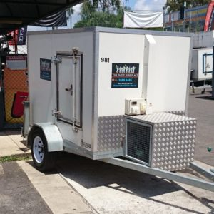 Coldroom Large, Trailer Mounted