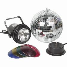 Mirror Ball (Inc. Coloured Spot)