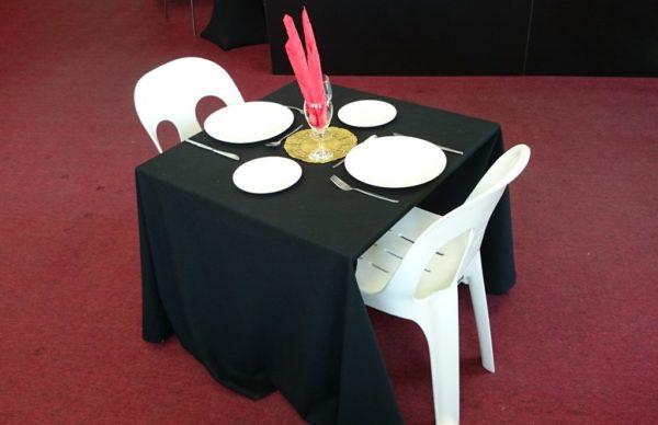 Table, Square (0.8m) Folding